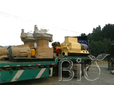 3-5tons/h Wood pellet making line delivery to ZheJiang Province,China