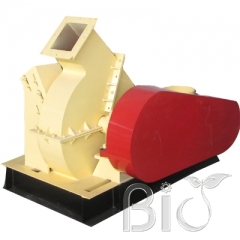 Small wood shredder