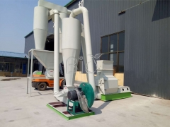 Germany Client order High effcieny Wood hammer mill complete set