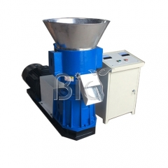 SKJ300 flat die pellet mill for organic fertilizer pellets